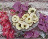 سیب خشک (با پوست)