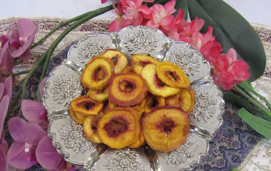 مراحل خشک کردن میوه