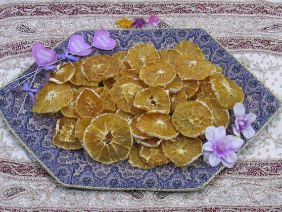 پرتقال بدون پوست